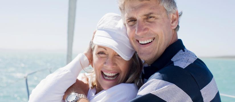 smile restoration with a dental bridge